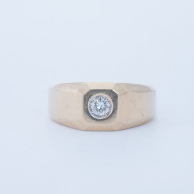 Pre-Owned 14K Men's Diamond Ring