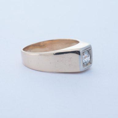 Pre-Owned 14K .50 Carat Vintage Diamond Ring