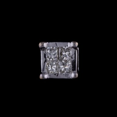 Pre-Owned Single Diamond Stud