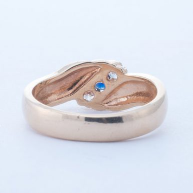 Pre-Owned 14k Sapphire and Diamond BandPre-Owned 14k Sapphire and Diamond BandPre-Owned 14k Sapphire and Diamond Band