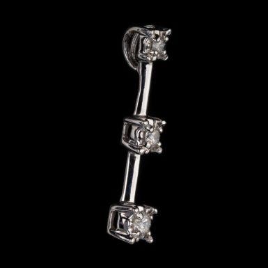Pre-Owned 10K Diamond Journey Pendant
