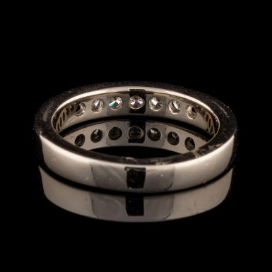 Pre-Owned 14K White Gold Diamond Band