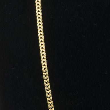 14K Franco Link 20 Inch Chain