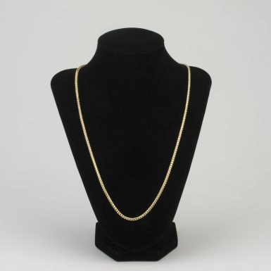 14K Franco Link 22 Inch Chain