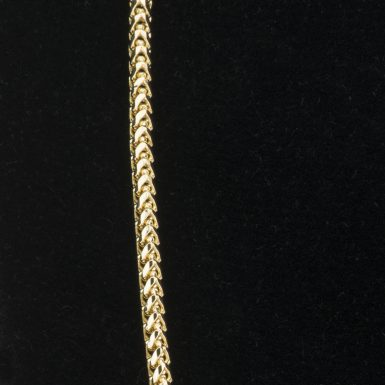 14K Franco Link 22 Inch Chain