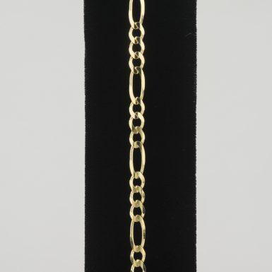 14K Franco Link 8 inch Bracelet