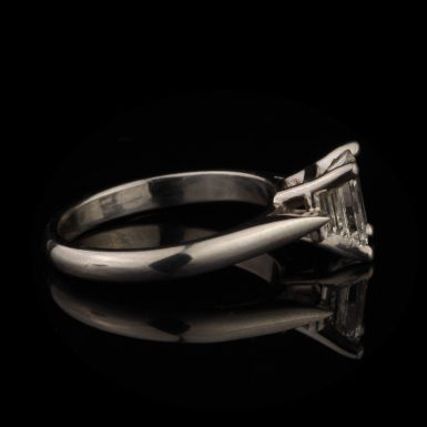 Pre-Owned Platinum 1.09 Carat Diamond Solitaire Engagement Ring