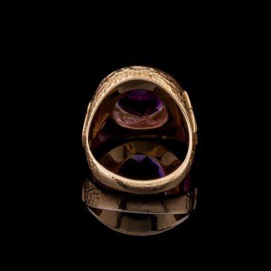 Vintage 10K Amethyst Class Ring
