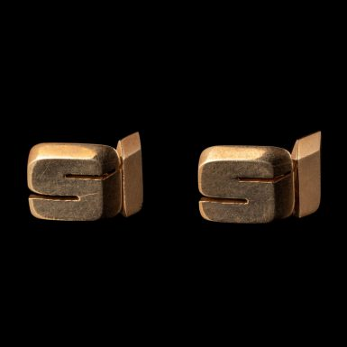 Vintage 14K Cartier Cuff Links