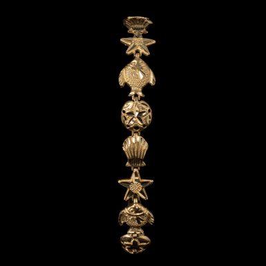 Pre-Owned 14K Seashell Bracelet