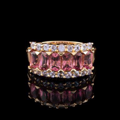 Pre-Owned 14K Pink Topaz Ring