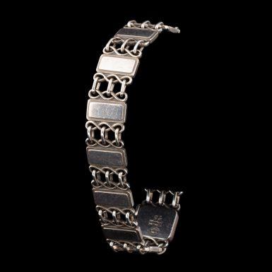 Vintage Georg Jensen Link Sterling Silver Bracelet