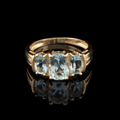 Pre-Owned 14k Aquamarine Ring