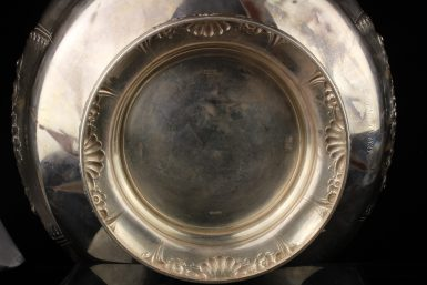 Antique Bigelow Kennard & Co Sterling Silver Punch Bowl