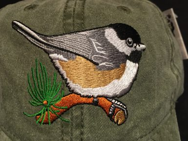 Black-Capped Chickadee Embroidered Hat