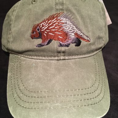 Porcupine Embroidered Hat