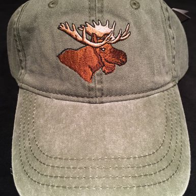 Moose Embroidered Hat