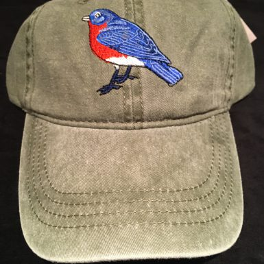 Bluebird Embroidered Hat