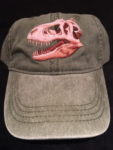 T-Rex Embroidered Hat