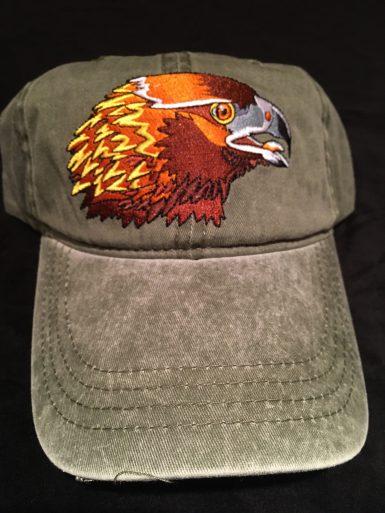 Golden Eagle Embroidered Hat