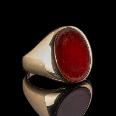 Vintage Tiffany and Co. Sardonyx 14K Ring