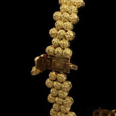 Vintage Tiffany 18K Mid- Century BraceletVintage Tiffany 18K Mid- Century Bracelet