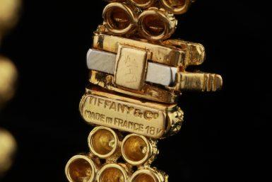 Vintage Tiffany 18K Mid- Century Bracelet