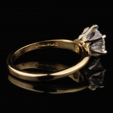 Pre-Owned 14K 1.06 Carat Diamond Solitaire Ring