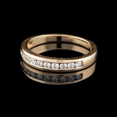 Pre-Owned 14K Diamond Wedding Band