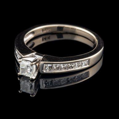 Pre-Owned 14K Princess Cut Diamond Ring