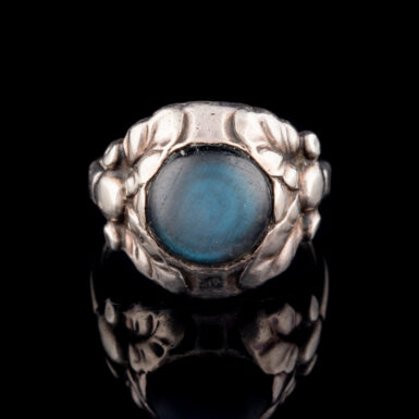 Pre-Owned Sterling Silver Labradorite Ring by Georg Jensen