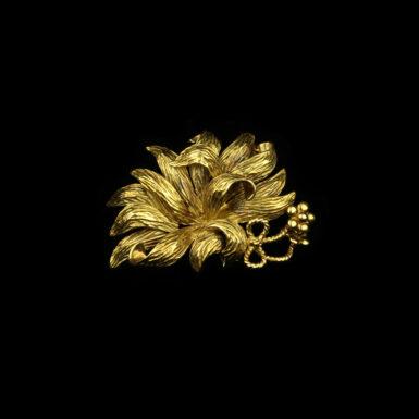 Vintage 18 Karat Yellow Gold Tiffany & Co. Brooch